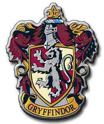 """GRYFFINDOR Iron On Embroidery Patch Harry Potter 3 """" . Hogwarts Magic slytherin"""