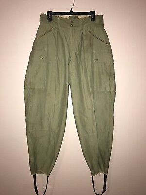 Original WW2 US Army MOUNTAIN Combat Trousers, 31Wx31L, VG+