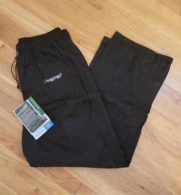 NEW With Tags - Frog Toggs Pro Action Rain Pants - L Large - Black