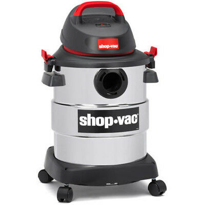 Shop-Vac, 6 Gallon 4.5 Peak HP Stainless Steel wet/dry vac ORIGINAL
