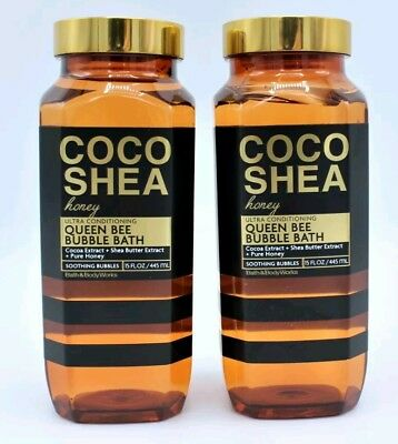 Bath and Body Works Coco Shea Honey Queen Bee Bubble Bath