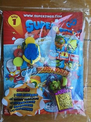 RARE Superzings Rivals of Kaboom STARTER GUIDE Series SEALED  Hideout & Guide