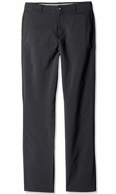 NWT $65 Under Armour Boys Youth Match Play Golf Pants BLACK 1271852 001