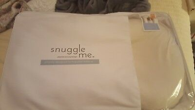 Snuggle Me Organic | The Original Co-Sleeping Baby Bed, Infant Lounger, Portable
