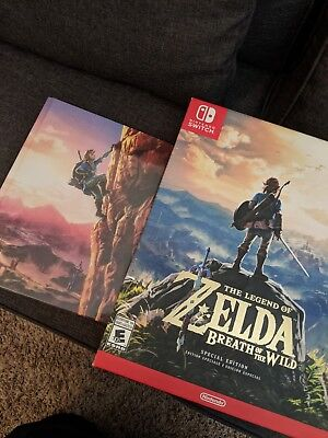 Legend of Zelda: Breath of the Wild -- Special Edition (Nintendo Switch, 2017)