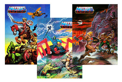 HE-MAN MASTERS OF THE UNIVERSE Animated Posters (SET OF 3)