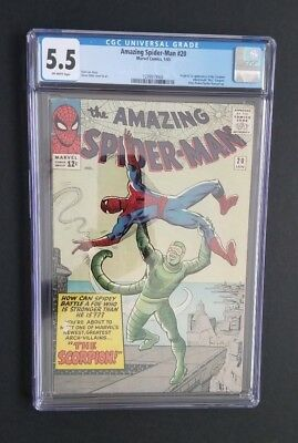 Amazing Spider-Man #20 • 1St Scorpion • Cgc 5.5 (Fn-) • Far From Home