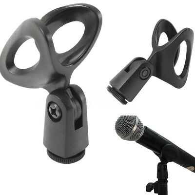 5PCS Microphone Clip Holder Mount Stand Clamp Accessory Plastic Unique Tool