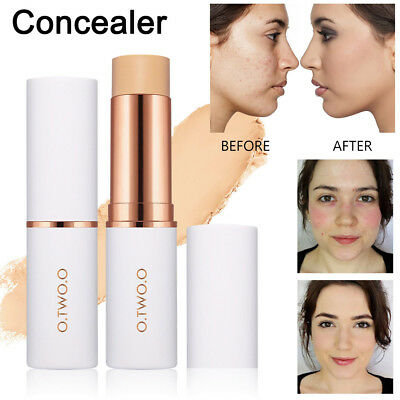 Face Eye Foundation Concealer Highlight Contour Pen Stick Makeup Cream Natural
