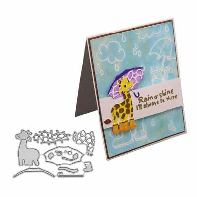 Giraffe Metal Cutting Dies Stencil DIY Scrapbooking Embossing Paper Card Craft