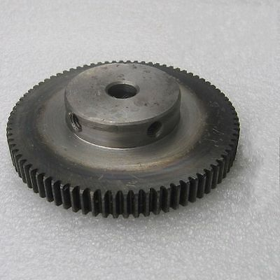 1.5Mod 60T Spur Gear 45# Steel Motor Gear Outer Diameter 93mm Bore 10mm x 1Pcs