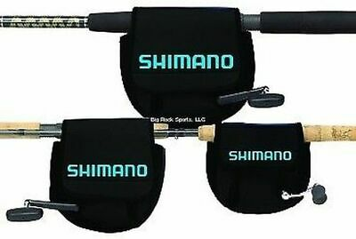 NEW! Shimano Neoprene Spin Reel Cover, Large ANSC850A