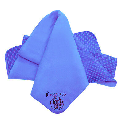 NEW! Frogg Toggs The Original Chilly Pad Cooling Towel, Varsity Blue CP100-02