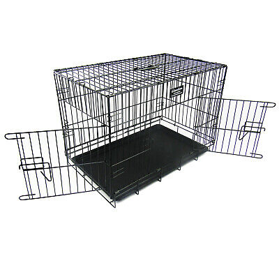 """36"""" DOG CAGE PUPPY TRAINING CRATE PET CARRIER - 36inch"""