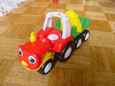 "Fisher Price Little People Traktor ""gebraucht"""