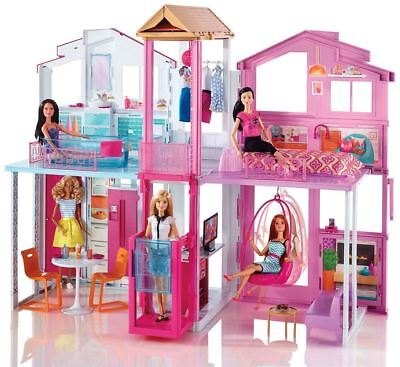 Barbie 3 Story Townhouse Doll Dream House
