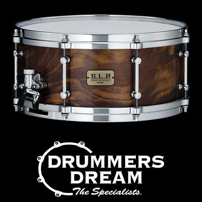 TAMA S.L.P. FAT SPRUCE 14x6 SNARE DRUM - WILD STAIN SPRUCE