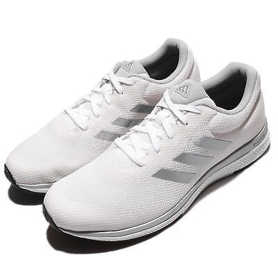 1a2f8b09341f9 adidas Mana Bounce 2 M Aramis II White Silver Men Running Shoes Sneakers  BW0564