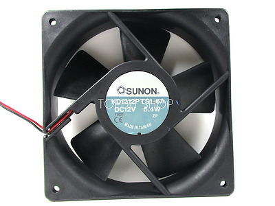 SUNON KD1212PTS1-6A High-speed Cooling fan DC12V 5.4W 0.45A 120*120*25MM 2wire