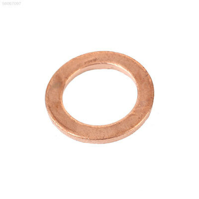 4B3A 20PCS/Pack Assorted Copper Washer Gasket Sump Plug Engine Fittings 8X12X1MM