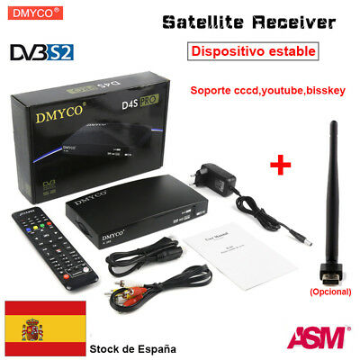 DMYCO D4SPRO FTA Satellite TV Receiver 1080P Full HD DVB-S2 Freesat V8+USB WIFI