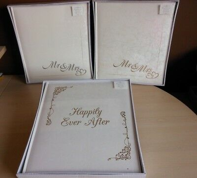 Wedding Marriage Large Luxury Photo Picture Album Mr Mrs Happily Ever After