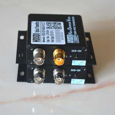 HD SD SDI Video Fiber Optic Media Converters for CCTV Camera Serveillance system