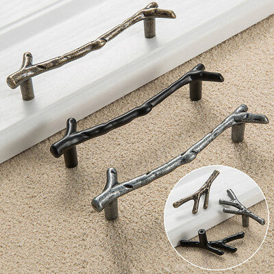 Tree Branch Cabinet Handle Kitchen Cupboard Closet Furniture Drawer Pulls Knob