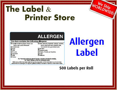 Allergen Labels