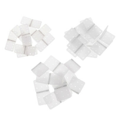 Pinned Plastic Hinge RC Airplane Plane Model Parts Replacement (Pack of 10)