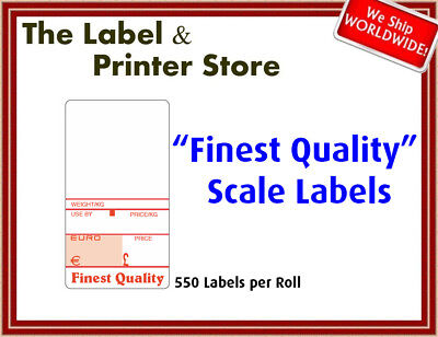 """Finest Quality"" Scale Labels"