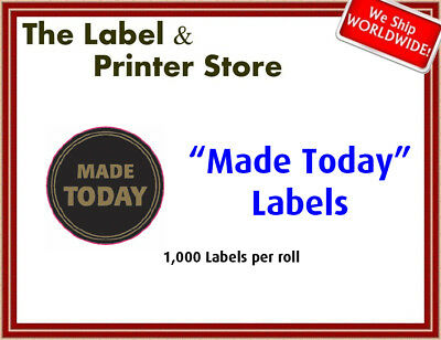 """Made Today"" Flash Labels"