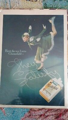 Skating Advertising Chesterfield Cigarettes 1935