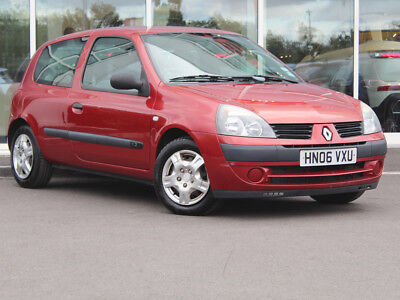 2006 06 RENAULT CLIO 1.2 CAMPUS 3dr - ONLY 61895 MILES - FEB 2019 MOT!