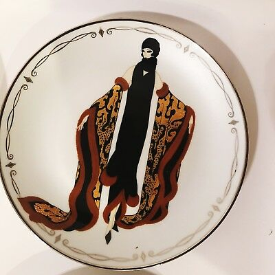 "Vintage Franklin Mint House Of Erte ""Mystic"" Collector Plate-MINT!"