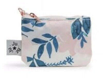 Ju-Ju-Be Whimsical Watercolor COIN PURSE Rose Gold Collection NIP Random PP
