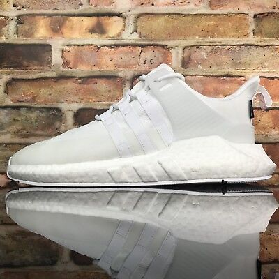Adidas Boost EQT Support 93/17 Mens Sz 11.5 Gore-Tex Cream White DB1444 Msrp$180