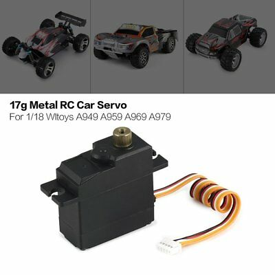 17g Analog Servo Metal Gear for WPL1625 RC Remote Control Truck Part Accessory!