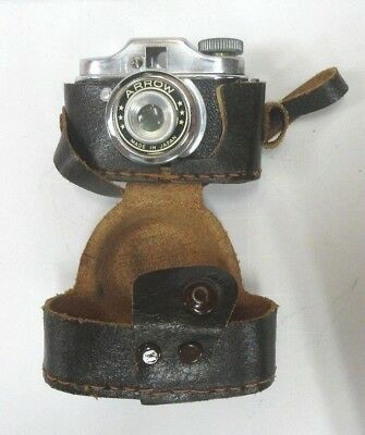 Mini SUBMINIATURE ARROW Spy Camera in case intage Made in Japan