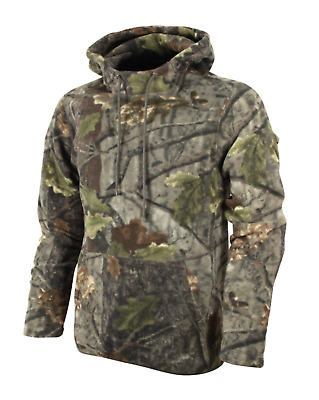 Jack Pyke Fieldman Fleece Hoodie Jacket Oak Camo Camouflage Hunting Shooting UK