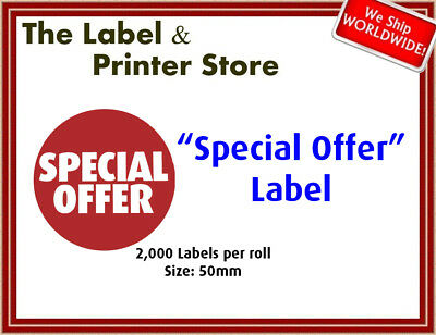 """Special Offer"" Labels"