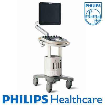 Philips ClearVue 550 Ultrasound System Machine Scanner Shared Service +1 Probe