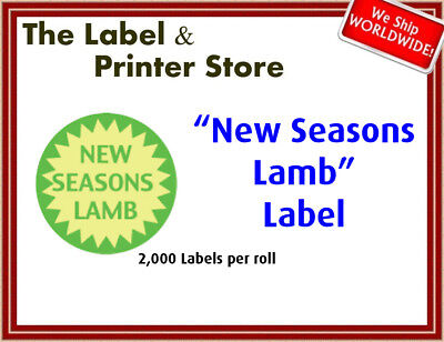 """New Seasons Lamb"" Labels"