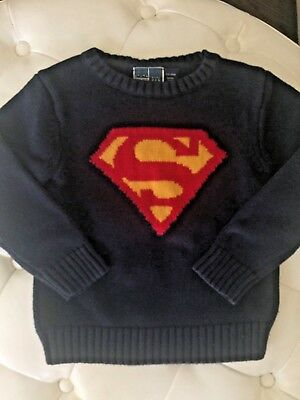 JUNKFOOD by Baby GAP Superman Sweater- 4T