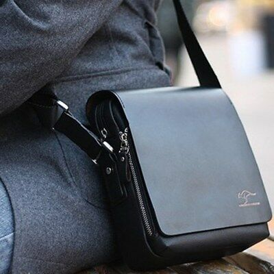Men's Bag Single Shoulder Bag PU Leather Business Crossbody Tote Bags Briefcases