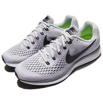 f87a4902a946 Nike Air Zoom Pegasus 34 Pure Platinum Anthracite Men Running Shoes  880555-010