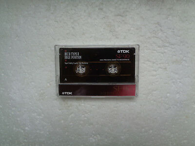 Vintage Audio Cassette TDK SF 90 From 1992 - Fantastic Condition !!