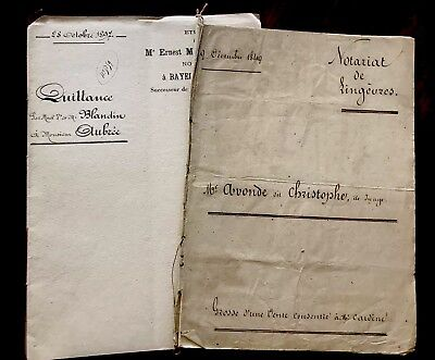 1800s Autographed and Handwritten Documents