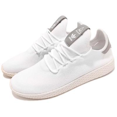 wholesale dealer a5b52 c3dee adidas Originals PW Tennis Hu Pharrell Williams White Grey Men Shoes B41793