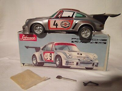 Altes Schuco Modellauto Porsche Carrera Turbo Martini Racing